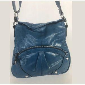 Style & Co Blue Purse Crossbody Shoulder Bag